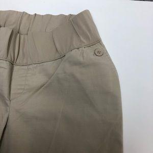 GAP Pants - Gap Maternity Hip Slumg Fit Tan Pants 10 Long